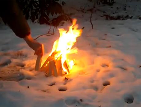 At winter equinox we burn The Sun