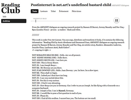 Postinternet is net.art's undefined bastard child