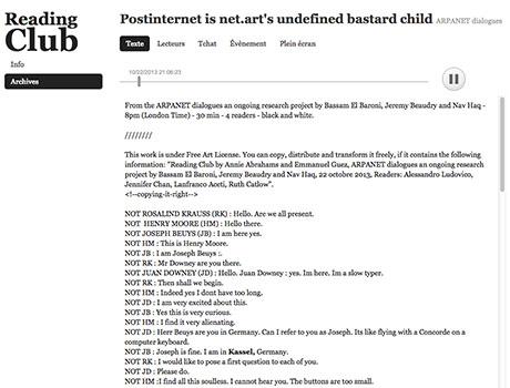 Postinternet is net.art's undefined bastard child