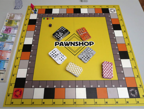 Pawnshop – the Greek Reality Board Game